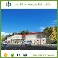 China cheap container house for hotel in prefab houses