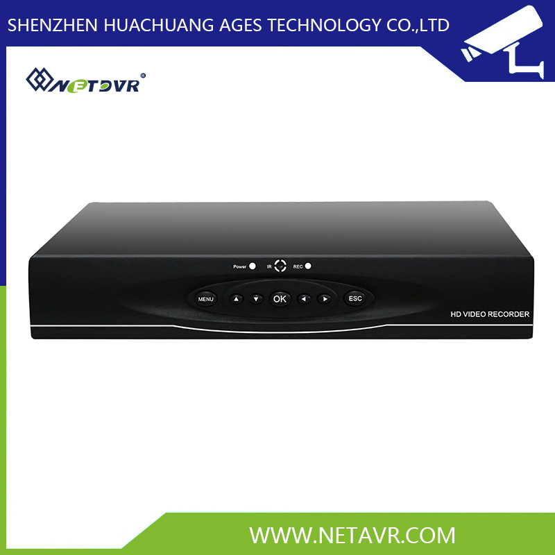 5 in 1 dvr ahd/tvi/cvi/ip/analog 4 channels Hislicon 1 sata wifi dvr for public security system