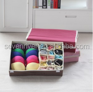Multifunctions underwear storage box with cover/bra storage box/socks organizer box
