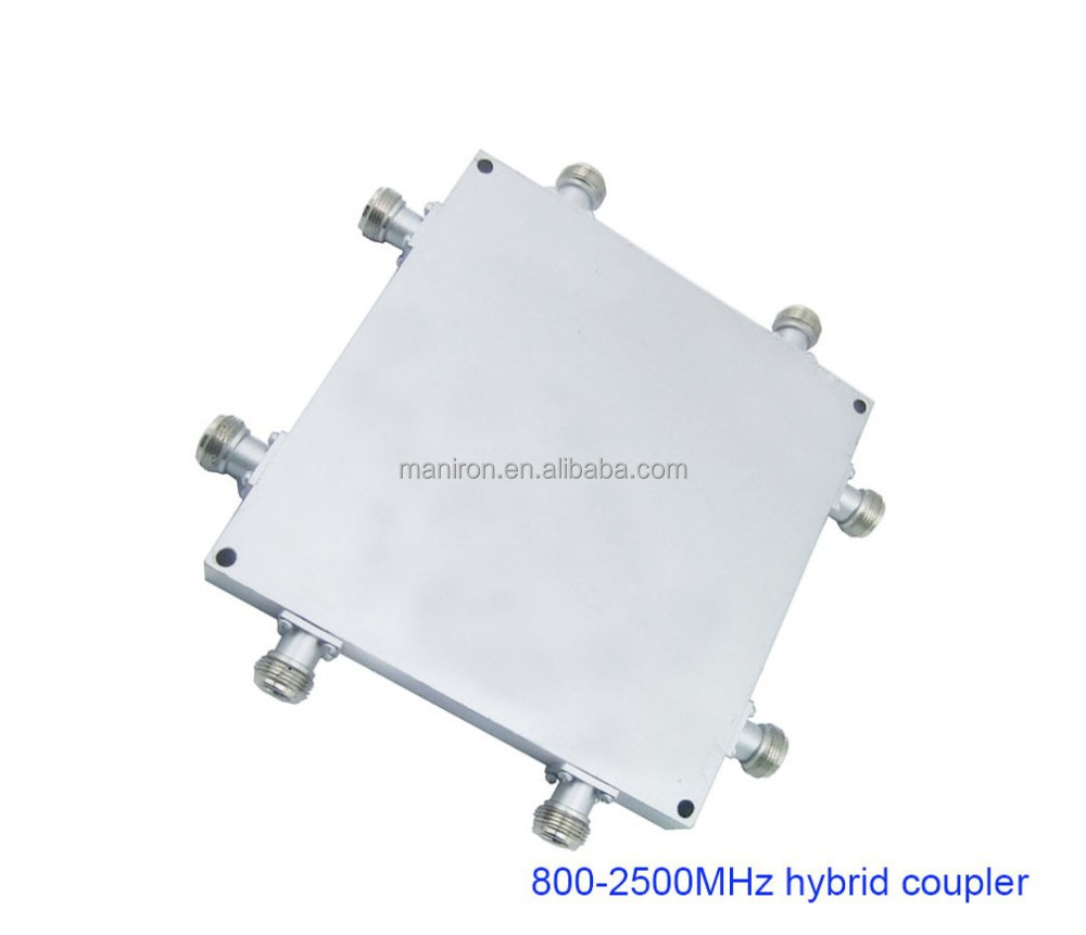 800-2500MHz, RF hybrid coupler/hybrid combiner, 200w watt 4x4 hybrid metrix , China factory price