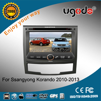 Factory OEM hot sale double din for Ssangyong Korando car radio