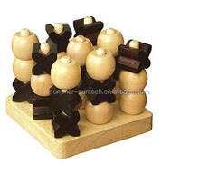 Wooden Puzzle Game - 3D Tic Tac Toe
