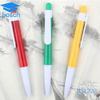 promotional gift retractable gel ink pen/stationery preminum