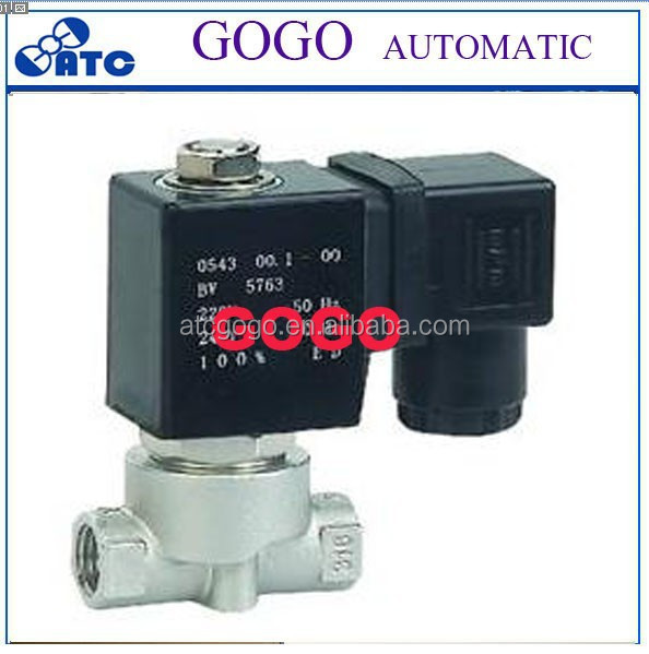 auto ignition gas valve air compressor unloader valve cartridge solenoid valve