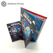 Professional A4 Size Catalogue Printing Brochure Booklet Pamphlet Printing Magazine Service In Guangzhou Hard Cover or PP Cover