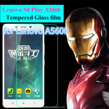 "0.26mm Utra-thin 9H for Lenovo S8 Play A5860 A5600 5.5 "" 2.5D Arc Edge Super Clear Premium Tempered Glass Screen Protector"