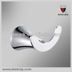 modern chrome brass bathroom robe hook with high quality