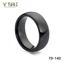 Beautiful Black Tungsten Ring, Mens Black Tungsten Rings, Women and animal hot sex