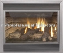Gas Fireplace HG43(with Louvers)