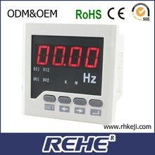 LED display digital single phase hz frequency meter