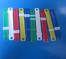 High quality colorful plastic paper file fastener