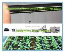 Drip irrigation equipment for watering lawns