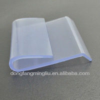 clear anti skid shelf clip