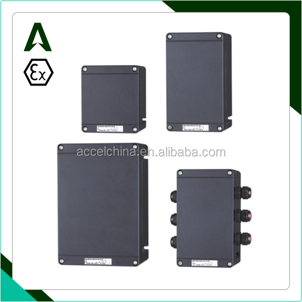 industrial plastic GRP hazardous area weather explosion proof enclosure junction box