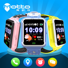 Factory product touch screen gps sos camera ce rohs smart watch phone