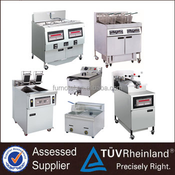 Manufacture Customized Commercial Industrial KFC Chips Electric/Gas Deep Fryer For Restaurant