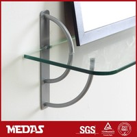 Garden Decorative Glass Shelf Support Clamp