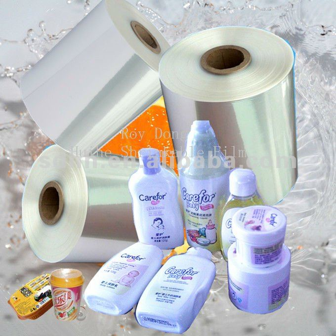 pof shrink film for bulk packing