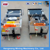 Automatic wall plastering machine/auto rendering machine/rendering machine price