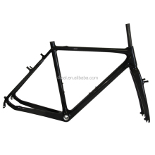 2014 Top Seller 56cm carbon cycle cross frameset BSA/BB30 cyclocross carbon frame CX bike frame