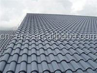 Plastic building construction material UPVC tile roofing materials ASA+PVC waterproofing
