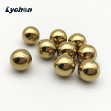Lychon export different size plated india brass beads