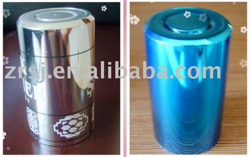 Top-opening vacuum coating bottle cap/ Vodka bottle cap