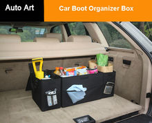 12 Pockets Multi-use Tools kit auto box Storage Car Boot Organiser Bag