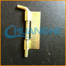 China supplier cheap sale small brass plated piano hinge