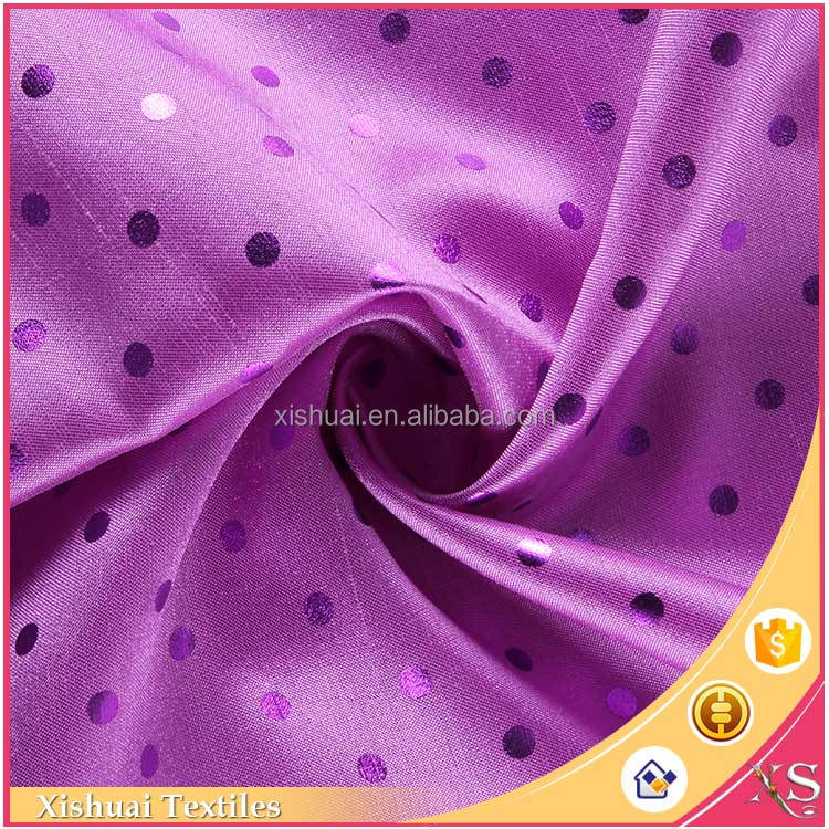 comfortable polyester fabric weight, bronzing spun polyester fabric for arab thobe