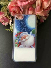 Hot Selling Liquid Soft Material Fashion Christmas Gift Cute Case for Samsung Galaxy S3