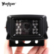 24V 170 Degree Waterproof Car Reverse Rear View Backup Color CCD Camera 648*448 Pixels