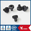 OEM Manufacture Silicone rubber grommets black rubber cable grommets / electronic cable grommet