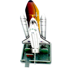 Best Sale gift and souvenir kids small Space shuttle jigsaw puzzles