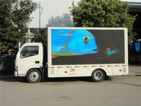 Led small price display P10 mobile led screen truck xxx video