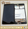 original LCD Touch Screen Digitizer Assembly with frame for 2013 Asus Google Nexus7 Nexus 7 FHD 2nd Gen wifi version