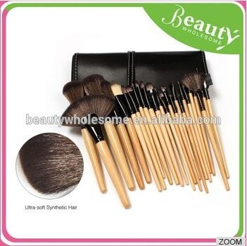 T0C Professional toothbrush cosmetics makeup brushes set, 10pcs oval makeup brush set
