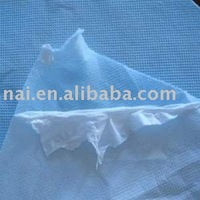 Spunbond with breathable film nonwoven fabric
