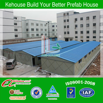 china ISO approve fast-installed sandwich panel prefabricated apartment