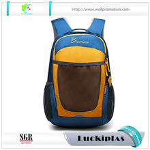 Sports school student best 35 liter big zipper backpack with ball pocket