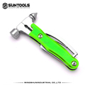 10 in 1 Camping helper outdoor activities hand tools foldable functional hammer