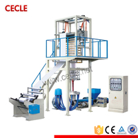 Shrinkable Film Extrusion Line PE high& Low-pressure Blowing Film Machine/5%-10% Off Cheap Plastic Film