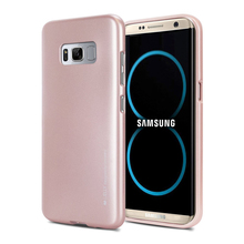 Latest Android Phone Accessories For Samsung S8 Case, Flexible TPU I Jelly Phone Case Wholesale