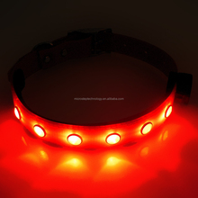 Good quality rechargeable usb dog collar series!! 200mah battery powered usb rechargeable led dog collar