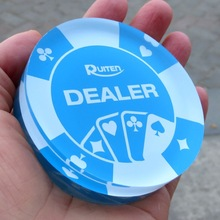 Factory Direct Supply Customized Acrylic Button Poker All In Chips
