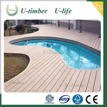 Low price China supplier tongue and groove composite decking