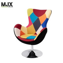 Contemporary furniture leisure swivel Lounge chair fabric Furniture living room