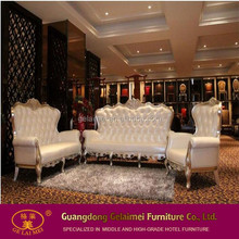 2016 Hot Genuine leather chesterfield white sofa sets genuine leather lounge