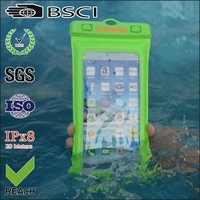 Most popular waterproof cell phone covers bag for samsung