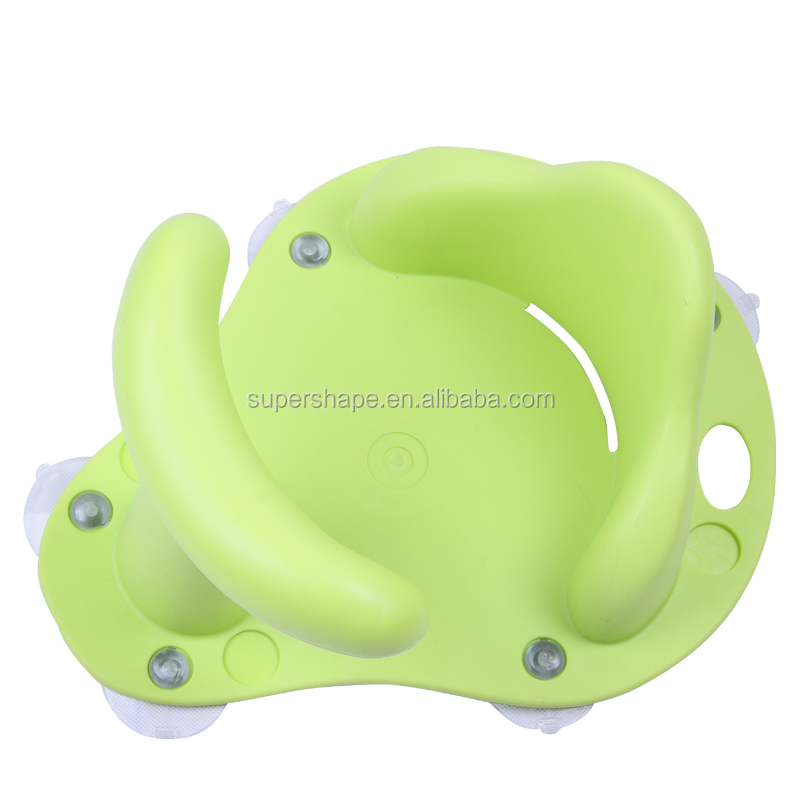 Baby bath support seat baby bath tub chair
